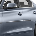 Infiniti Q40 Chrome Body Side Moldings, 2007, 2008, 2009, 2010, 2011, 2012, 2013, 2014, 2015