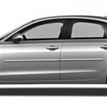 Audi A6 Chrome Body Side Moldings, 2016, 2017, 2018