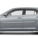Chrysler 300 Chrome Body Side Moldings, 2011, 2012, 2013, 2014, 2015, 2016, 2017, 2018, 2019, 2020