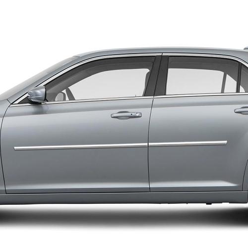 Chrysler 300 Chrome Body Side Moldings 2011 2012 2013