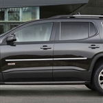 GMC Acadia Chrome Body Side Moldings, 2017, 2018, 2019, 2020