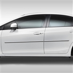 Honda Civic Sedan Chrome Body Side Moldings, 2012, 2013, 2014, 2015, 2016, 2017, 2018, 2019, 2020