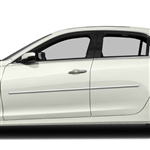 Cadillac CTS Chrome Body Side Moldings, 2014, 2015, 2016, 2017, 2018, 2019