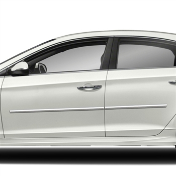 Hyundai Sonata Chrome Body Side Moldings 2011 2012 2013