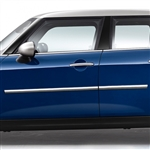 Mini Cooper Clubman Chrome Body Side Moldings, 2015, 2016, 2017, 2018, 2019, 2020