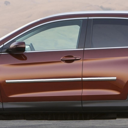 Honda Cr V Chrome Body Side Moldings 2012 2013 2014 2015 2016 Shopsar Com