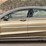 Ford Fusion Chrome Body Side Moldings, 2013, 2014, 2015, 2016, 2017, 2018, 2019