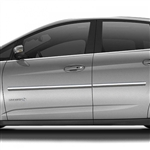 Ford C-Max Chrome Body Side Moldings, 2013, 2014, 2015, 2016, 2017, 2018