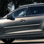 Mazda CX-9 Chrome Body Side Moldings, 2007, 2008, 2009, 2010, 2011, 2012, 2013, 2014, 2015, 2016, 2017, 2018, 2019