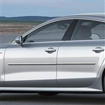 Audi A7 Chrome Body Side Moldings, 2010, 2011, 2012, 2013, 2014, 2015, 2016, 2017, 2018, 2019