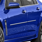 Chevrolet SS Chrome Body Side Moldings, 2014, 2015, 2016, 2017, 2018