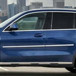BMW X5 Chrome Body Side Moldings, 2019, 2020
