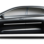 Cadillac XTS Chrome Body Side Moldings, 2013, 2014, 2015, 2016, 2017, 2018, 2019, 2020