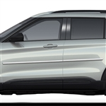 Ford Explorer Chrome Body Side Moldings, 2020