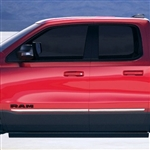 Dodge Ram 1500 Chrome Body Side Moldings, 2019, 2020