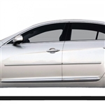 Kia Cadenza Chrome Body Side Moldings, 2014, 2015, 2016, 2017, 2018, 2019, 2020