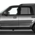 Ford Expedition Chrome Body Side Moldings, 2011, 2012, 2013, 2014, 2015, 2016, 2017