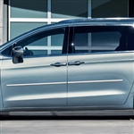 Chrysler Voyager Chrome Body Side Moldings, 2020, 2021, 2022