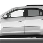 Chevrolet Equinox Chrome Body Side Moldings, 2010, 2011, 2012, 2013, 2014, 2015, 2016, 2017
