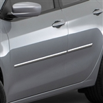 Dodge Dart Chrome Body Side Moldings, 2013, 2014, 2015, 2016, 2017