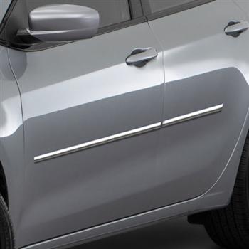Dodge Dart Chrome Body Side Moldings 2013 2014 2015