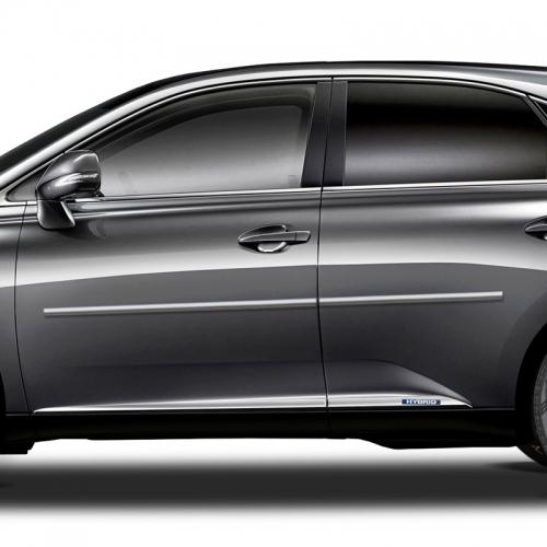 Acura MDX Chrome Body Side Moldings, 2007, 2008, 2009