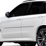 BMW X5 Chrome Body Side Moldings, 2013, 2014, 2015, 2016, 2017