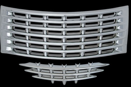 Chrysler Pt Cruiser Chrome Grille Overlay 2001 2002