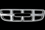 2000 - 2003 Isuzu Rodeo Chrome Grille Overlay