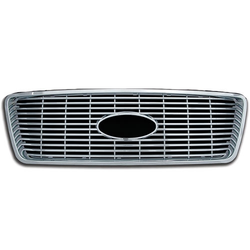 Ford F150 XLT Chrome Grille Overlay, 2004, 2005, 2006 ...