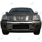 Nissan Armada Chrome Grille Overlay, 3pc. Set, 2004, 2005, 2006, 2007