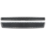 Chevrolet Tahoe Chrome 'Mesh' Style Grille Overlay, 2007, 2008, 2009, 2010, 2011, 2012, 2013, 2014