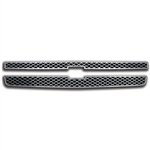 Chevrolet Silverado LS / LT Chrome Grille Overlay, 2pc  2007, 2008, 2009, 2010, 2011, 2012, 2013