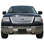 Ford Expedition Chrome Grille Overlay, 2003, 2004, 2005, 2006