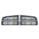 Dodge Charger Chrome Grille Overlay, 5pc  2006, 2007, 2008, 2009, 2010