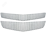 Chevrolet Traverse Chrome Mesh Grille Overlay, 2pc  2009 - 2012