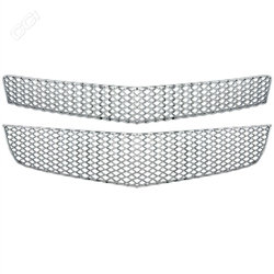Chevrolet Traverse Chrome Grille Overlay, 2009, 2010, 2011, 2012