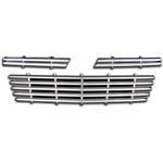 Chevrolet Impala Chrome Grille Overlay, 2006, 2007, 2008, 2009, 2010, 2011