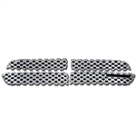 Dodge Durango Chrome Grille Overlay, 2011, 2012, 2013