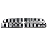 Dodge Charger Chrome Grille Overlay, 4pc  2011, 2012, 2013, 2014