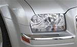 2005-2008 Chrysler 300 ABS Chrome Front Bumper Cover Trim