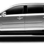 Lincoln MKT Painted Body Side Moldings with chrome inserts, 2010, 2011, 2012, 2013, 2014, 2015
