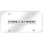 Dodge Challenger Chrome License Plate
