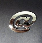 Premium 3D Chrome Individual Letters & Numbers - At