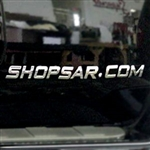 Automotive 3D Chrome Letters and Chrome Numbers for Hummer