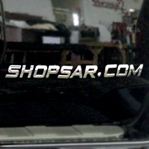Automotive 3D Chrome Letters and Chrome Numbers for Dodge