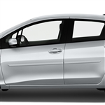 Toyota Yaris Painted Body Side Molding, 2009, 2010, 2011, 2012, 2013, 2014, 2015
