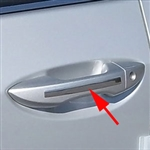 Toyota Corolla Chrome Door Handle Accent Trim, 2014, 2015, 2016, 2017, 2018, 2019