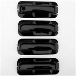 Ford F150 Gloss Black Door Handle Cover Set, 2015, 2016, 2017, 2018, 2019, 2020