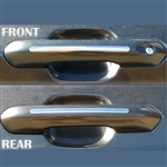 Ford Explorer Chrome Door Handle Accents, 2020, 2021